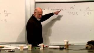 Statistical Mechanics Lecture 3