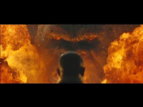 熱血沸騰的《金剛:骷髏島》日本版預告公開!