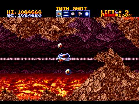 Thunder Force IV Megadrive