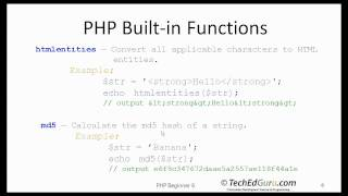 http://www.TechEdGuru.com provides tutorials on various programming topics such as Java, .NET, OOAD, PHP, Perl, Visual Basic, Excel VBA. We offer professional development courses in Programming. Our instructors have over fifteen years of university teaching experience, as well as the practical programming experiences of working in Silicon Valley. With our professional development programming courses, you are guaranteed individual attention and expert advice.