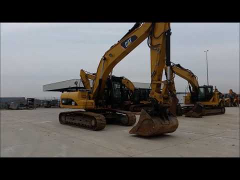 CATERPILLAR TRACK EXCAVATORS 329DLN equipment video EmSXSX5hYpU