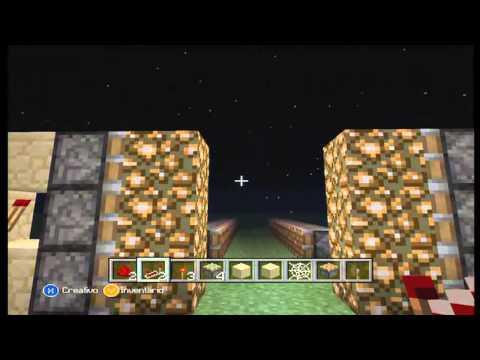 Minecraft Xbox 360: Trampa de Arena Movediza [Tutorial]
