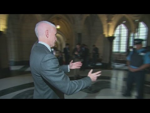 Step - Alongside videojournalist Josh Wingrove, Anderson Cooper takes viewers on a step by step tour of the shooting in Ottawa.