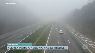 Concessionária faz campanha para orientar motorista durante neblina