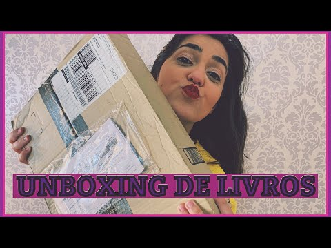 UNBOXING DE LIVROS #3 | Sarah J Maas vai me falir!