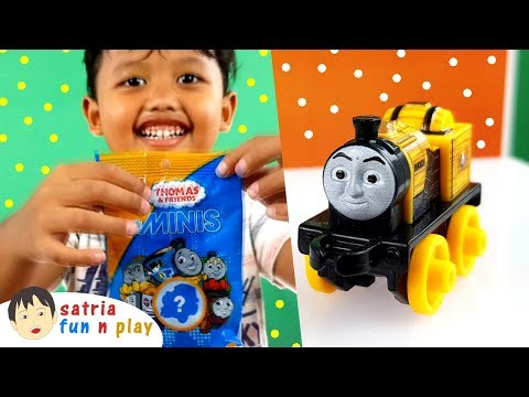 Dapat Thomas Mini apa ya? Unboxing Mainan Thomas Mini Satria Fun n Play