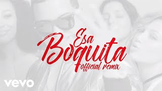 J Alvarez - Esa Boquita (Remix) (Feat. Zion & Lennox) (Lyric Video)