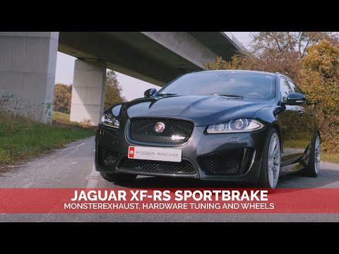 POGEA RACING | JAGUAR XF-RS SPORTBRAKE TUNING + WHEELS w EN SUB