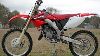 5. 2004 Honda CR125: Before Modifications