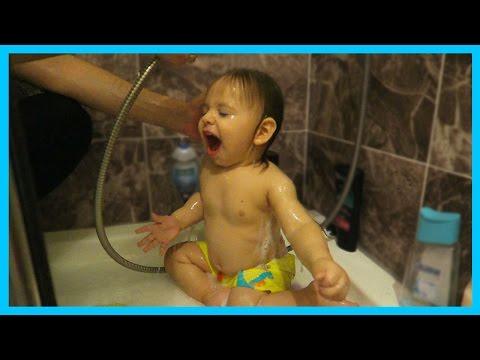 Yankı Bebek Banyo Yapıyor l Bebek Banyosu l Prens Yankı