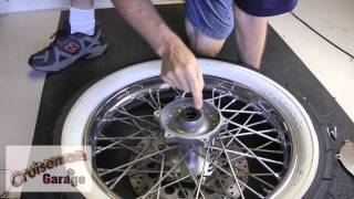 5. Install Front Brake Rotors On Yamaha V-Star 1100 Custom