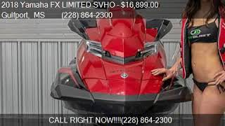 8. 2018 Yamaha FX LIMITED SVHO  for sale in Gulfport, MS 39507
