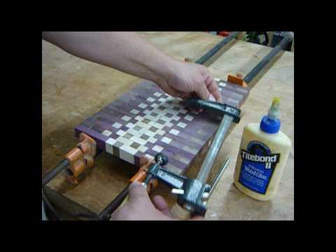 making an endgrain cutting board pt.3