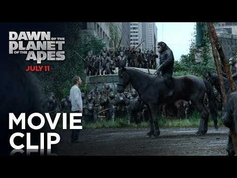 Dawn of the Planet of the Apes (Clip 'Apes Don't Want War')