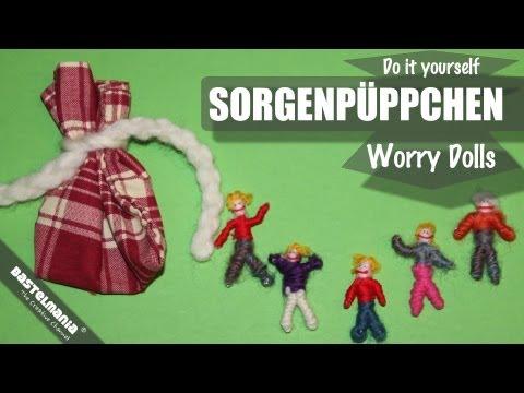 Sorgenpüppchen / Worry Dolls / Sorgenpuppen selber machen.