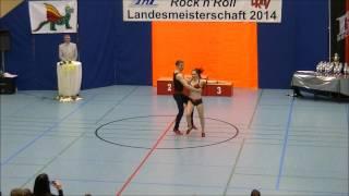 Chiara Pütz & Christopher Pütz - Landesmeisterschaft Rheinland- Pfalz 2014