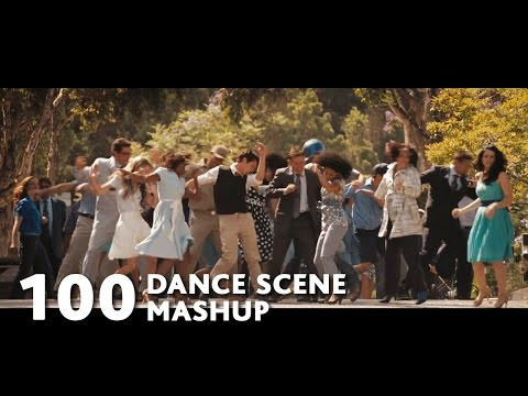 100 Movies Dance Scenes Mashup (Mark Ronson-Uptown Funk ft.Bruno Mars)-WTM