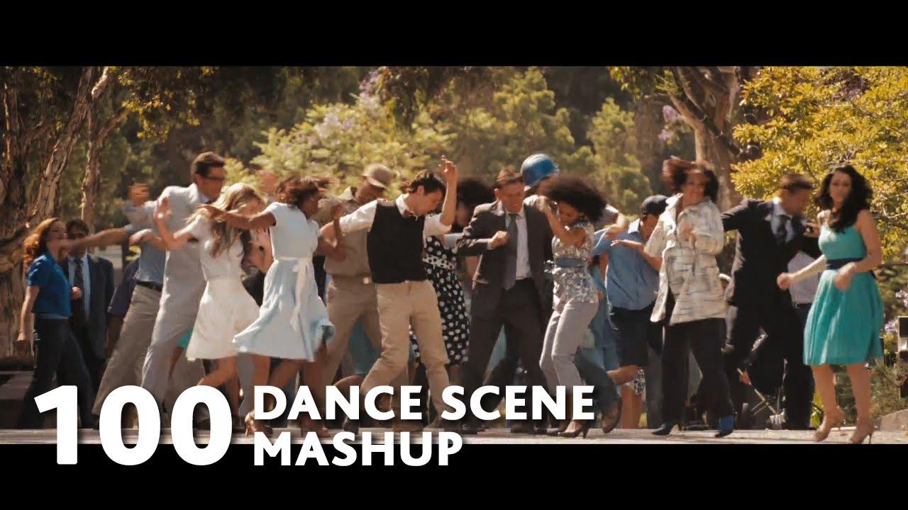 100 Dance Scene Mashup (Mark Ronson-Uptown Funk ft.Bruno Mars)-WTM