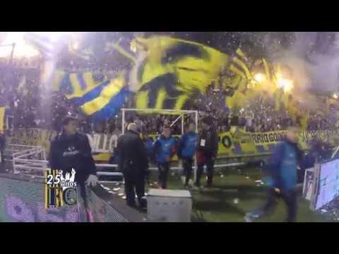 Video - VIDEO Editado Asi recibe su hinchada al glorioso Rosario Central - Los Guerreros - Rosario Central - Argentina