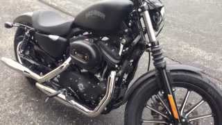 10. 2013 Harley Davidson Iron 883 Start up and First Ride!