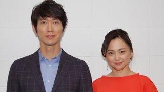 佐々木蔵之介、永作博美/『夫婦フーフー日記』インタビュー