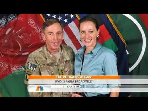 Petraeus Affair with Retired colonel  Paula Broadwell she is 'very aggressive