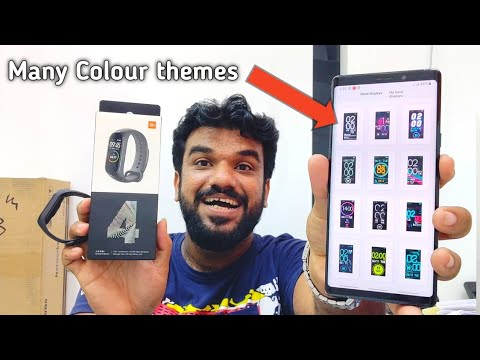 Hindi | Xiaomi Mi Band 4 Unboxing First Look.. Available In Dubai