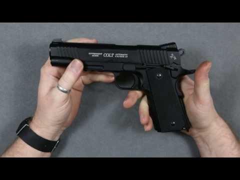 Colt Government M45 CQBP CO2 Luftpistole 4,5mm