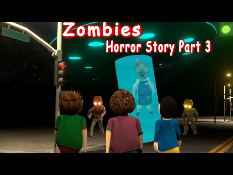 Zombies Horror Story Part 3 | Siren Head Game | Cartoon Movies | Best Animated Movies
