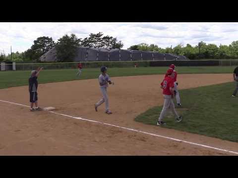 Hudson Valley Bulldogs vs Brooklyn Blue Storm Elite 13U Baseball (видео)