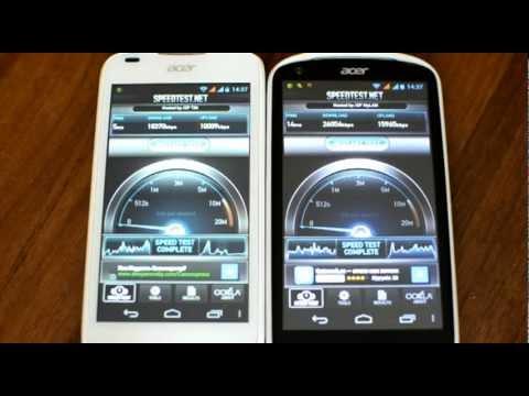 Acer Liquid E1 Duo vs Acer Liquid gallant duo