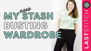 Sewing a 4-piece capsule wardrobe: Burdastyle and Knip Mode