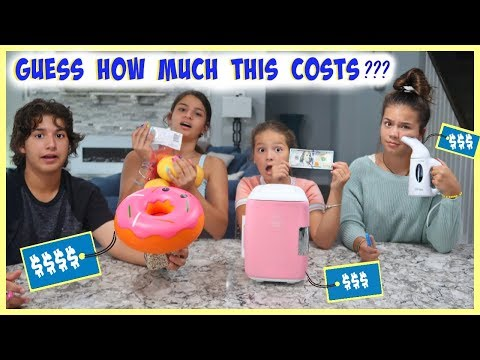 GUESS HOW MUCH THIS COSTS | WIN $$$ |COUSINS VS COUSINS | SISTER FOREVER