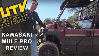 9. Kawasaki Mule PRO DXT Ride Review