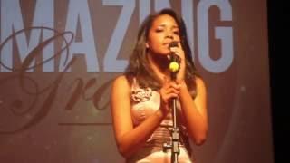 Amazing Grace - Whitney Houston (Cover) - [Audição EMPM 2014]