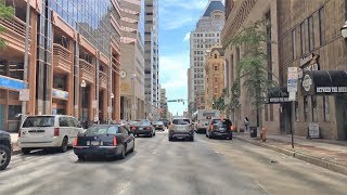 Baltimore (MD) United States  city photo : Driving Downtown - Baltimore Street - Baltimore Maryland USA