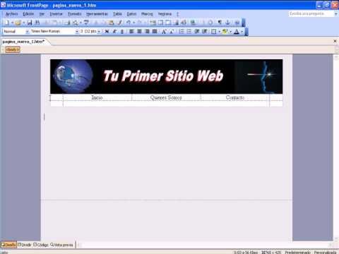 Video 2 de FrontPage 2003: Cómo utilizar FrontPage parte 3