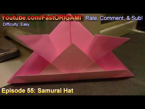 Hat Tutorial - 030 - Samurai Hat