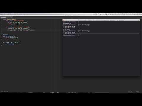 Python Decorators as Classes
