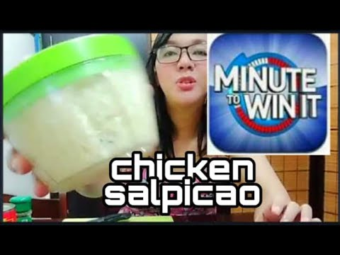 HOW TO COOK CHICKEN SALPICAO