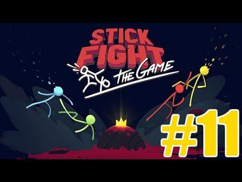 The FGN Crew Plays: Stick Fight the Game #11 - Shotgun Camper