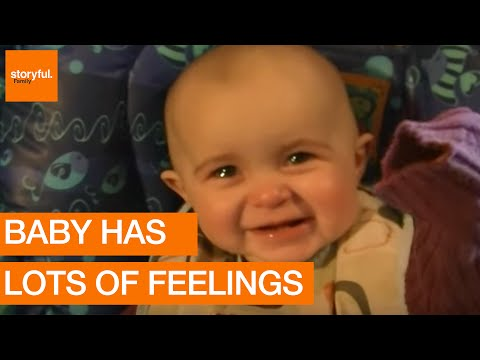 Baby's Emotional Reaction to Mother's Song