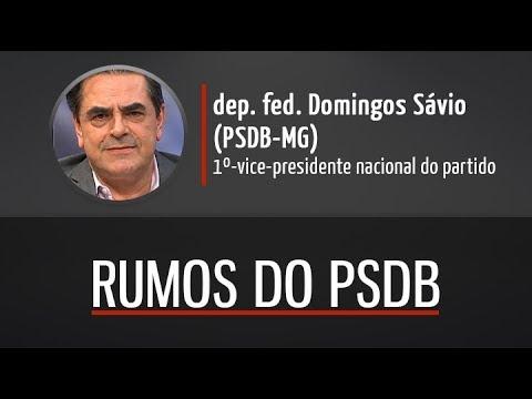 Deputado federal Domingos Sávio comenta rumos do PSDB nacional