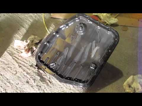 Pontiac Vibe and Toyota Matrix Transmission Filter and Fluid Change