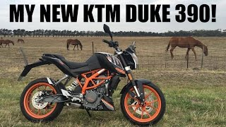 5. My New 2016 KTM Duke 390!