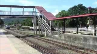 Beaufort Malaysia  city photos : Borneo Train Kota Kinabalu to Beaufort, Sabah, Malaysia 2014