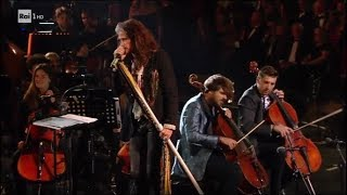 Video Steven Tyler & 2CELLOS - Dream On, Walk This Way MP3, 3GP, MP4, WEBM, AVI, FLV Januari 2018