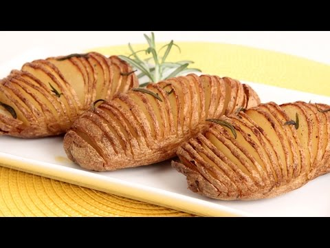 Hasselback Potatoes Recipe - Laura Vitale - Laura in the Kitchen Episode 850