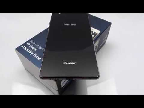 Philips Xenium X818 Unboxing