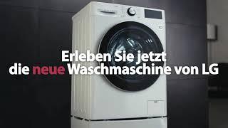 Die neuen LG Waschmaschinen: AI DD